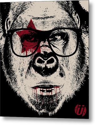 I Go Ape Metal Print