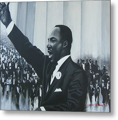 I Have A Dream Metal Print by Howard Stroman