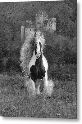 I Hope You're In A Beautiful Place Metal Print by Fran J Scott