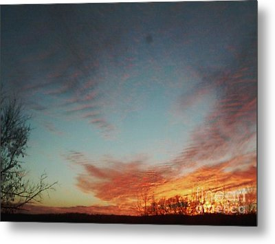I Know He Is Watching Metal Print by Jeffery Fagan