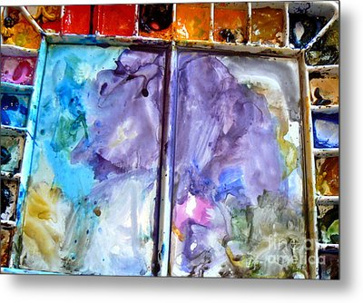 To Live In A Box Of Paints.. Metal Print by France  Art