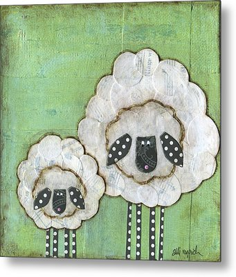 I Love Ewe So Much Metal Print by Alli Rogosich
