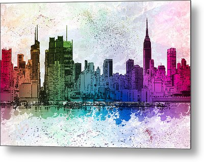 I Love New York Metal Print by Susan Candelario