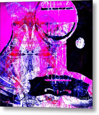I Love Rock And Roll 20140716 V2 Metal Print by Wingsdomain Art and Photography
