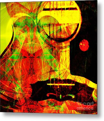 I Love Rock And Roll 20140716 Metal Print by Wingsdomain Art and Photography