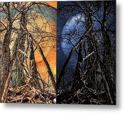 I Love You Day And Night Metal Print by Rick Mosher