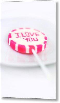 I Love You My Sweet Metal Print by Gynt