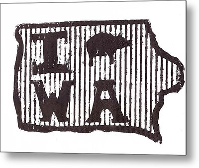 I Pig W A Metal Print by Jame Hayes