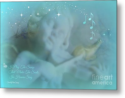 I Play The Songs Metal Print by Sherri's Of Palm Springs