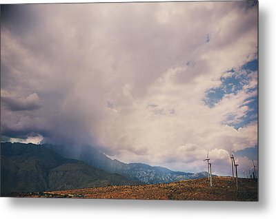 I Predict Rain Metal Print by Laurie Search