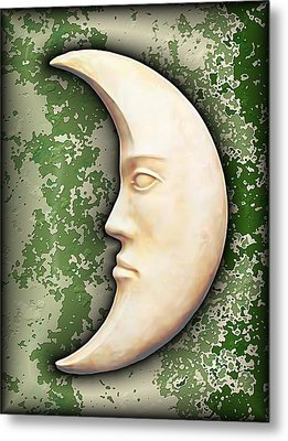 I See The Moon 3 Metal Print by Wendy J St Christopher