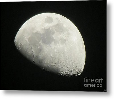 I See The Moon And The Moon Sees Me Metal Print
