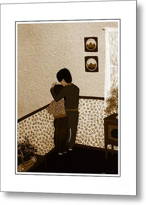 I Stay Wif You Metal Print by Barbara Griffin