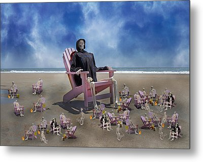 I Still Know What You Did Last Summer Metal Print by Betsy Knapp