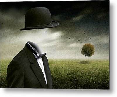 I Think, I'm A Dreamer Metal Print by Ben Goossens