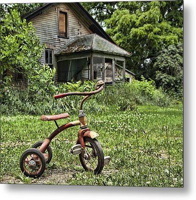 I Want To Ride It Where I Like Metal Print by John Crothers