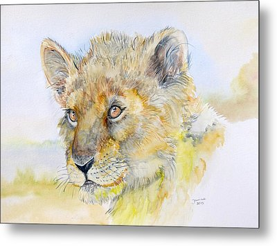 I Will Be The Lion King Metal Print by Janina  Suuronen