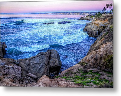 I Will Put You In A Cleft In The Rock Metal Print by Sharon Soberon