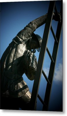 Iaff Fallen Firefighters Memorial  2 Metal Print