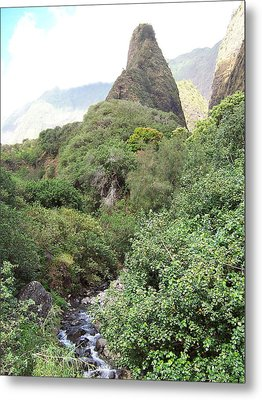 Metal Print featuring the photograph Iao Needle by Sheila Byers