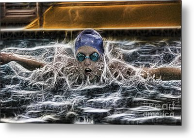 Metal Print featuring the photograph IB2 by Lee Dos Santos