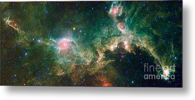 Ic 2177-seagull Nebula Metal Print by Science Source