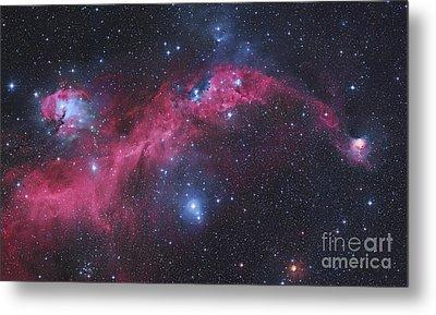 Ic 2177, The Seagull Nebula Metal Print