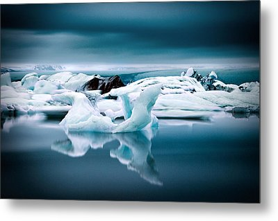Ice Age Metal Print by Ian Good