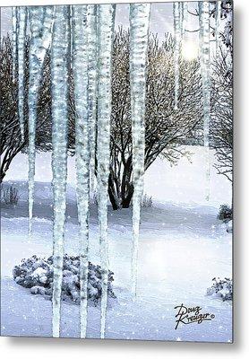 Ice Capades Metal Print by Doug Kreuger