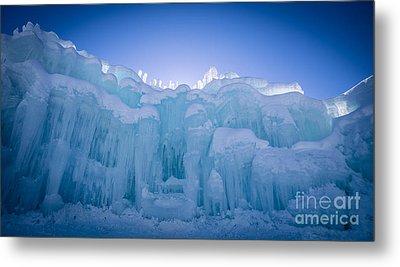 Ice Castle Metal Print by Edward Fielding