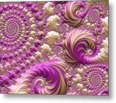 Ice Cream Social Metal Print by Susan Maxwell Schmidt