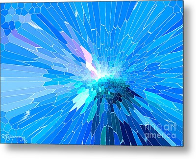 Metal Print featuring the photograph Ice Queen by Mariarosa Rockefeller