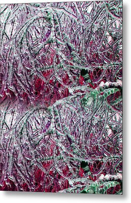 Ice Sculpture 2013 Metal Print by Laurie Wilcox