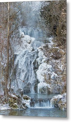 Ice Water Metal Print by Kathy Jennings