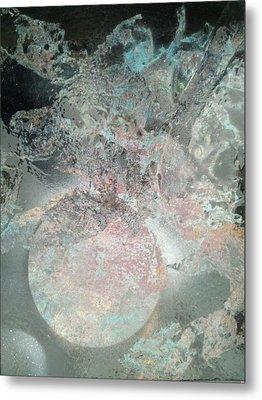 Ice World Metal Print