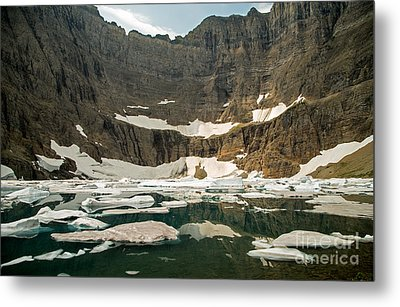Iceberg Lake Metal Print by Natural Focal Point Photography