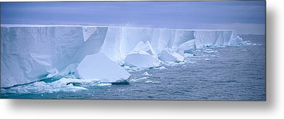 Iceberg, Ross Shelf, Antarctica Metal Print