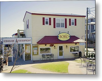 Icehouse Waterfront Restaurant 1 Metal Print by Lanjee Chee