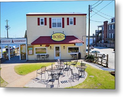Icehouse Waterfront Restaurant 2 Metal Print by Lanjee Chee