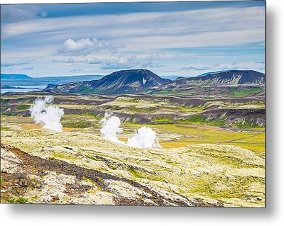 Iceland Outback Metal Print
