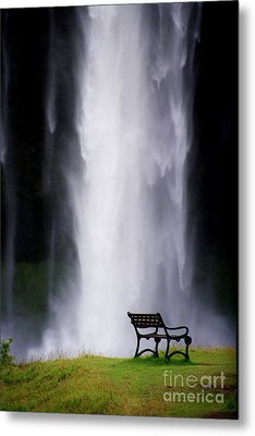Iceland Waterfall Metal Print by Arie Arik Chen