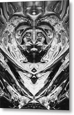Metal Print featuring the photograph Iceman Cometh by John  Bartosik