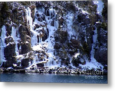Metal Print featuring the photograph Icicle House by Barbara Griffin