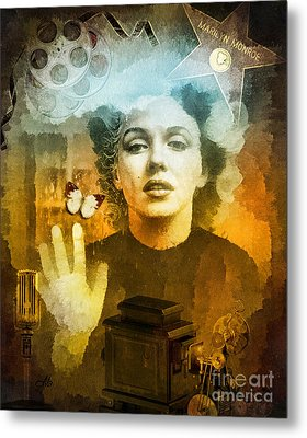 Icon Metal Print by Mo T