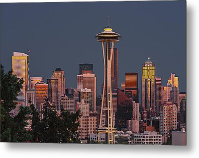 Iconic Needle Metal Print