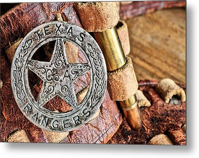 Iconic Texas Metal Print by JC Findley