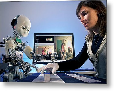 Icub Robot Metal Print