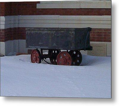 Idle Wagon Metal Print