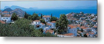 Idra Island Greece Metal Print by Panoramic Images
