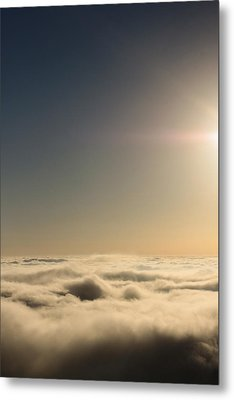 Idyllwild Clouds Metal Print by Denice Breaux